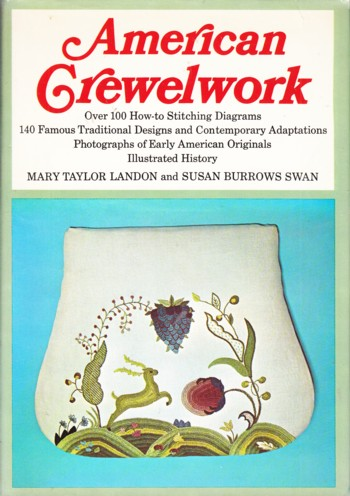Image for AMERICAN CREWELWORK