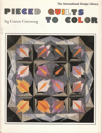Image for PIECED QUILTS to color
