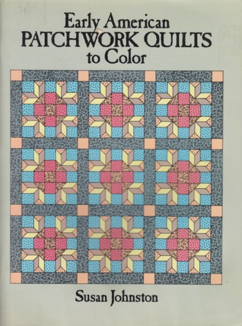 Image for EARLY AMERICAN PATCHWORK QUILTS TO COLOR