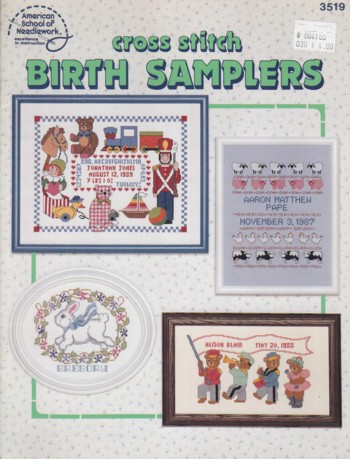Image for Cross Stitch Birth Samplers
