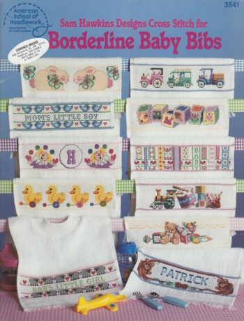 Image for Borderline Baby Bibs:  designs for cross stitch