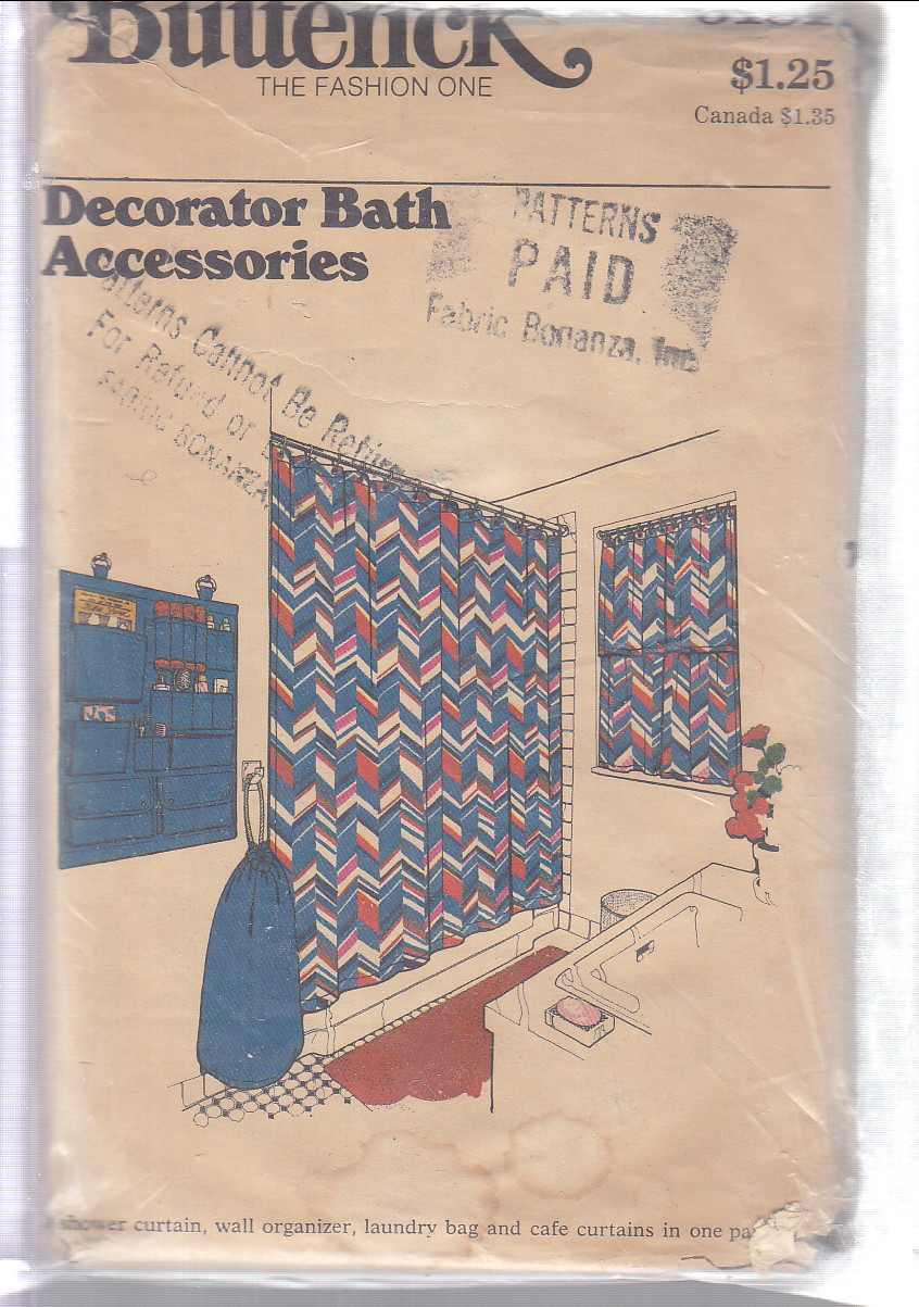 Image for (Pattern #3181) Decorator Bath Accessories