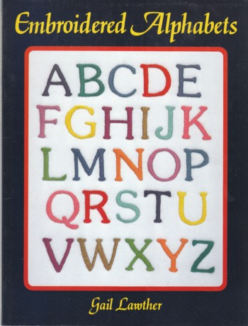 Image for Embroidered Alphabets