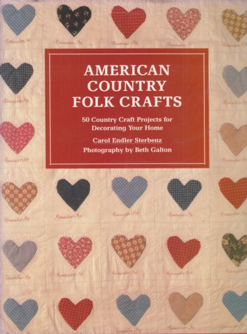 Image for American Country Folk Crafts:  50 coutnry craft proejcts for decoratin