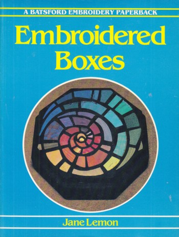 Image for EMBROIDERED BOXES