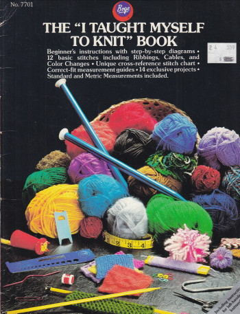 "Image for ""I Taught Myself to Knit"" Book"