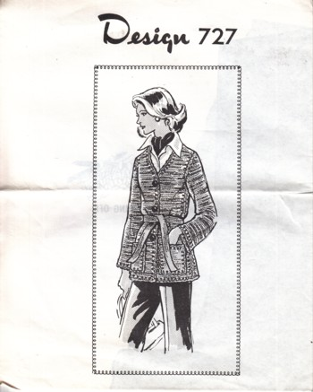 Image for (Design #727) Knitted Jacket