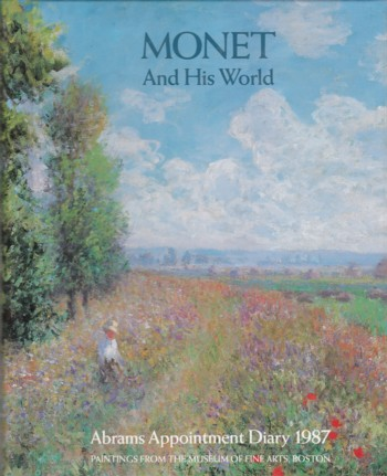 Image for Appointment Diary 1987:  Monet and His World
