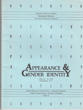 Image for Appearance & Gender Identity May 16-19, 1990