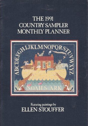 Image for 1991 Country Sampler Monthly Planner