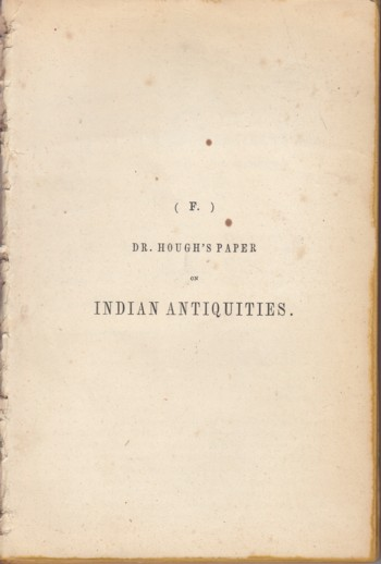 Image for Indian Collection 1850