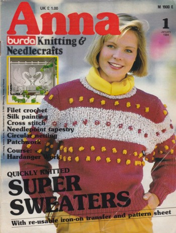 Image for Anna Knitting & Needlecrafts 1984 January
