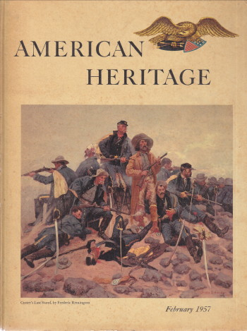 Image for American Heritage Feb 1957