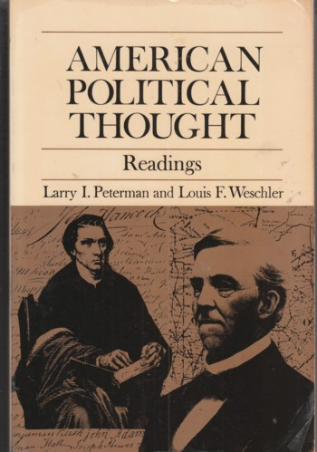 Image for American Political Thought Readings
