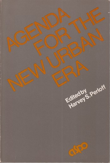 Image for Agenda for the New Urban Era: Second Generation National Policy