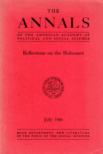 Image for Reflections on the Holocaust