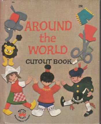 Image for Around the World Cutout Book