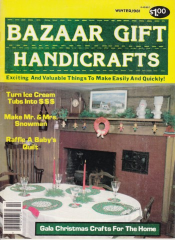 Image for Bazaar Gift Handicrafts 1981 Winter