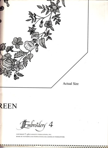 Image for 4 Embroidery Designs from Book of Patterns for American Needlework