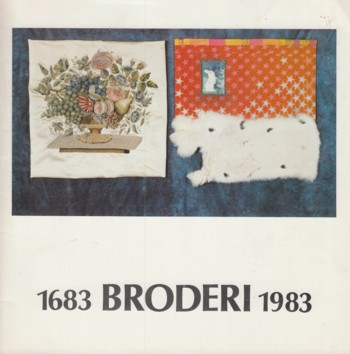 Image for Broderi 1683 to 1983