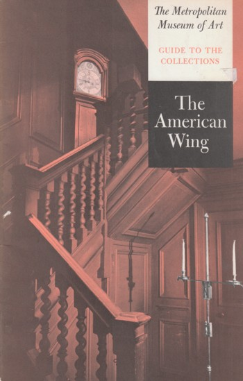 Image for American Wing, guide to the collections