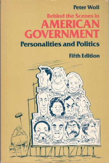 Image for Behind the Scenes in American Government:  personalities and politics