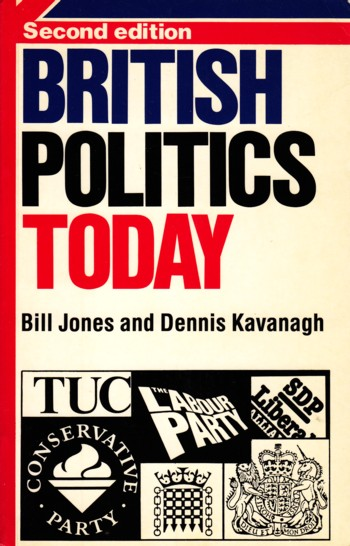 Image for British Politics Today second edition