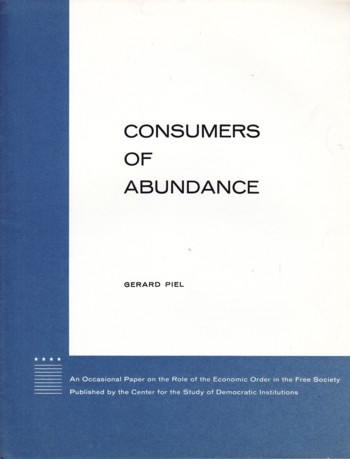 Image for Consumers of Abundance