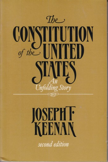 Image for Constitution of the United States:  an unfolding story