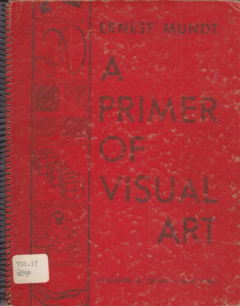 Image for Primer of Visual Art: basis of advertising posters, typography, textil