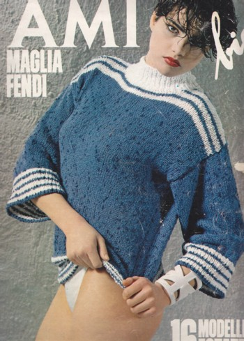 Image for Ami bis:  Maglia fendi:  16 sweater projects