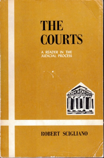 Image for Courts:  a reader in the judicial process