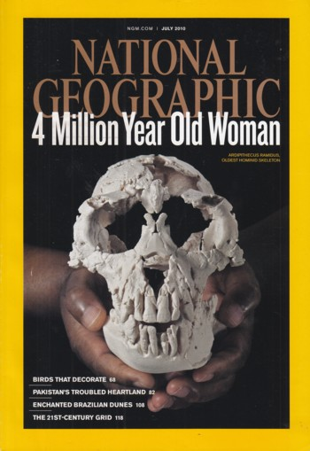 Image for National Geographic 2010 July