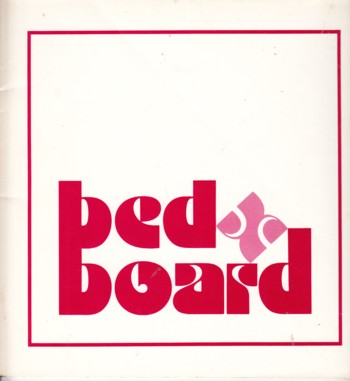 Image for Bed & Board:  Contemporary Quilts & Woodwork (exhibit catalog)