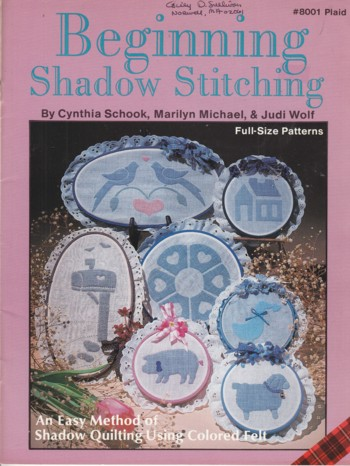 Image for Beginning Shadow Stitching, full size patterns
