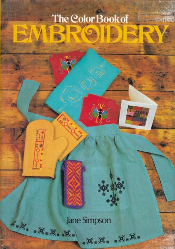 Image for COLOR BOOK OF EMBRODIERY