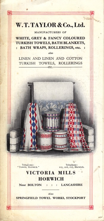 Image for (advertisement) Victoria Mills Horwich Towels