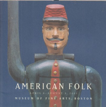 Image for American Folk Apr 8- Aug 5, 2001, exhibit catalog