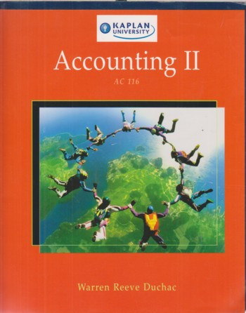 Image for Accounting II (AC 116)
