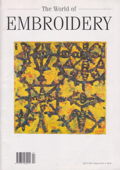 Image for World of Embroidery November 1998 Volume 49 No. 4