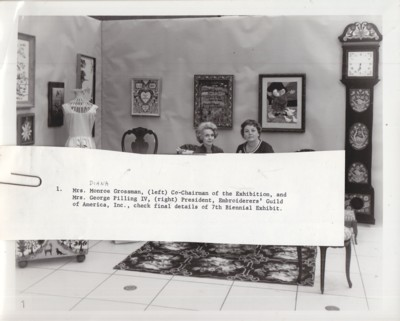 Image for (Photograph) EGA 7th Biennial Exhibit, circa 1968