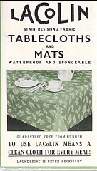 Image for Lacolin Stain Resisting Fabrics Tablecloths and Mats
