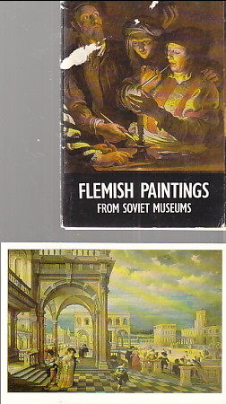 Image for 17 Post Cards of Flemish Paintings from Soviet Museums