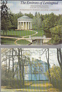 Image for 16 Post Cards of The Environs of Leningrad