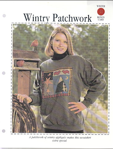 Image for Wintry Patchwork (sweatshirt to sew)