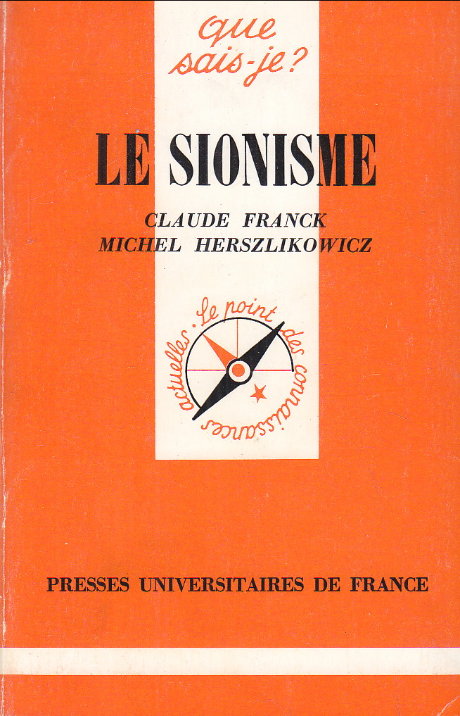 Image for Le sionisme