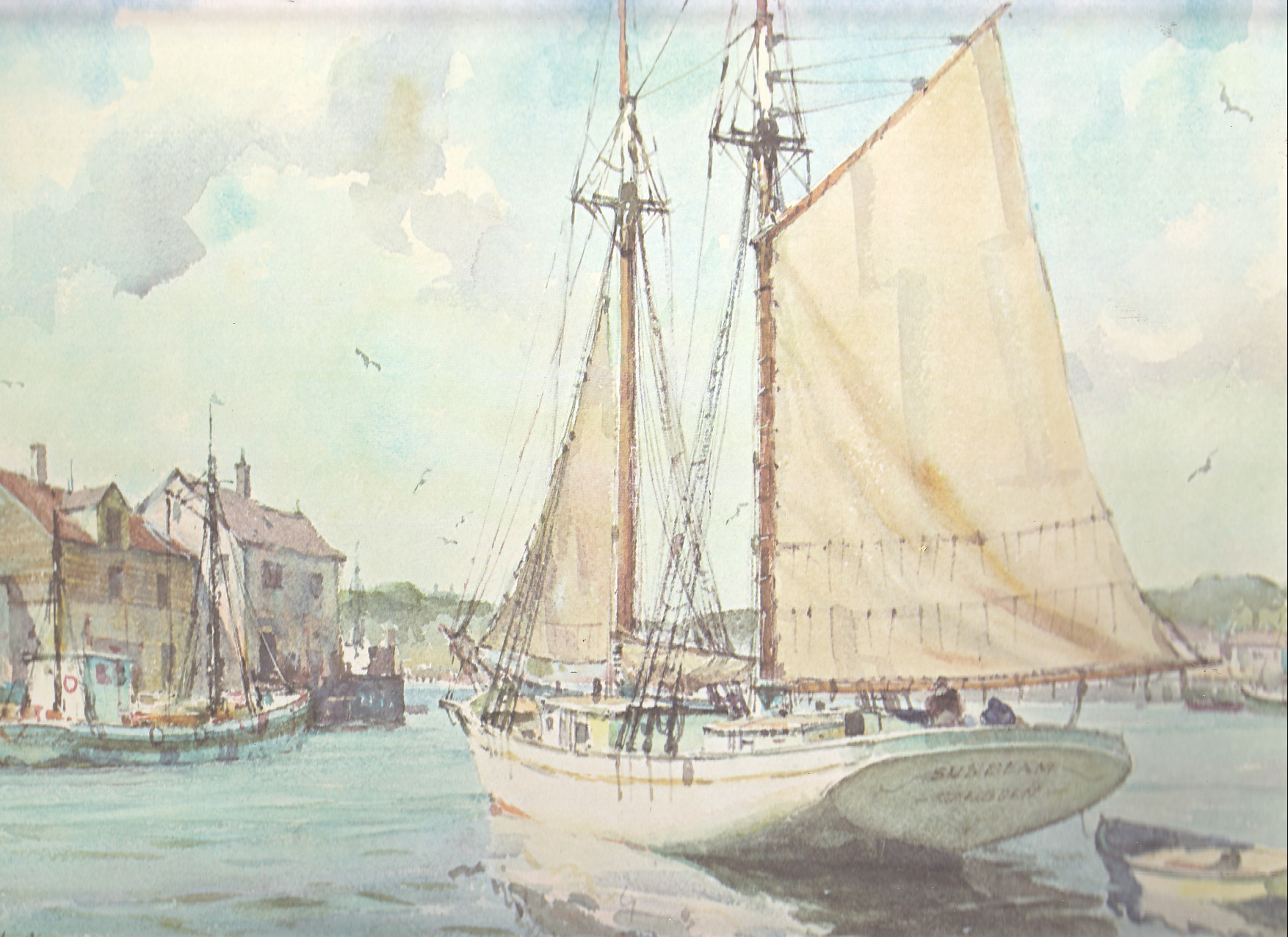 Image for Marine Water Color Prints