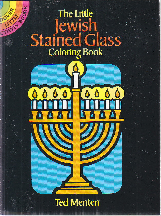 Image for Little Jewish Stained Glass Coloring Book