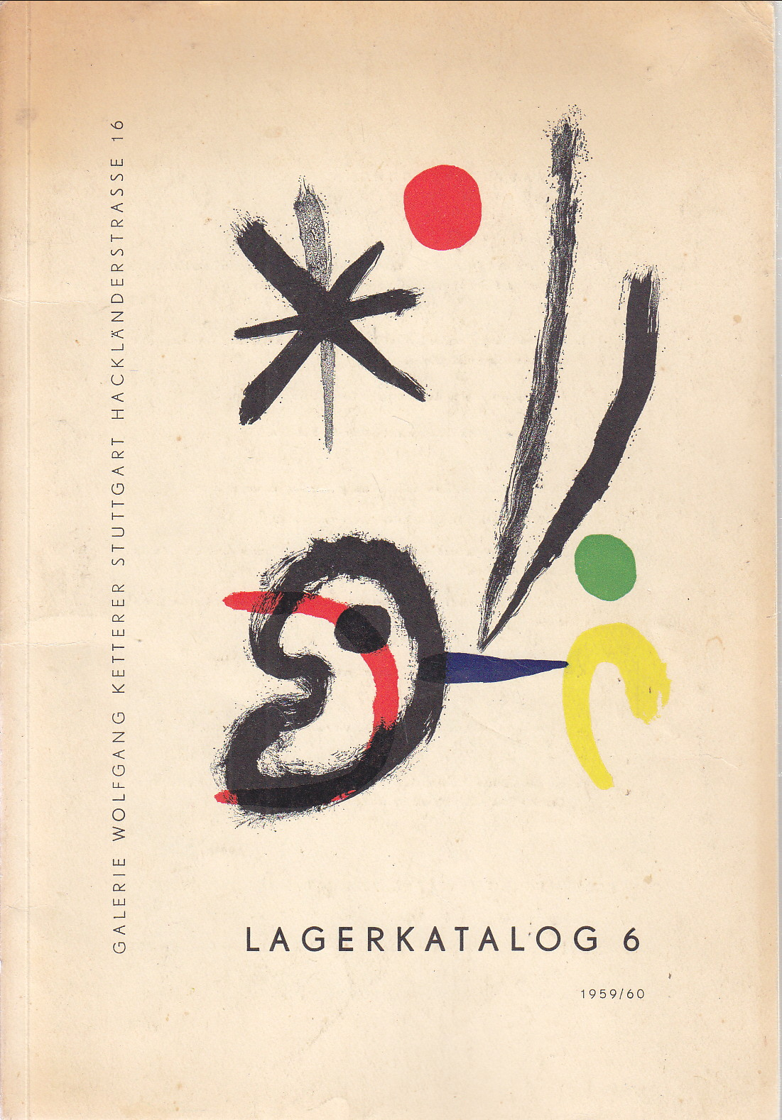Image for Lagerkatalog 6 1959/60