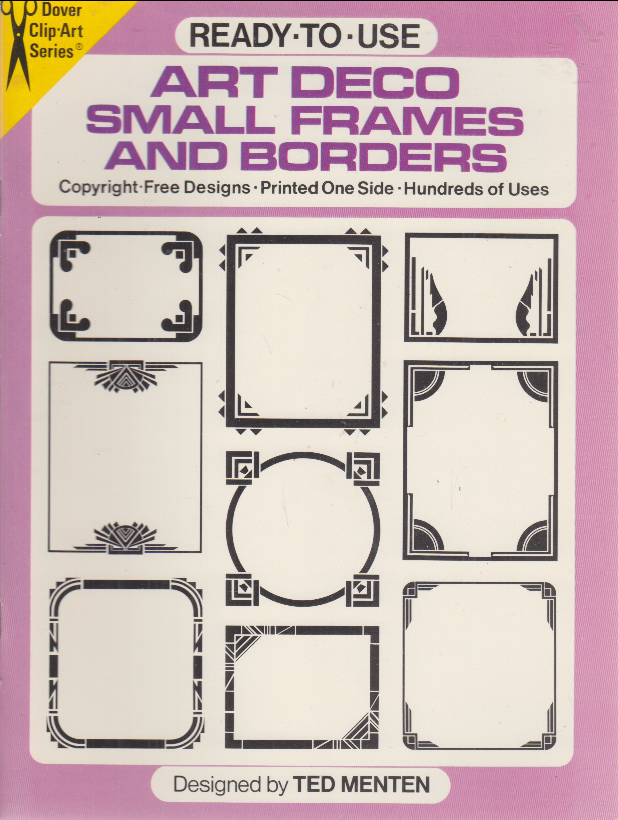 Image for Art Deco Small Frames and Borders
